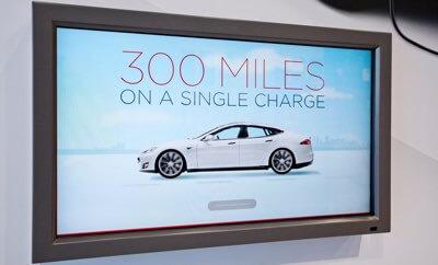 Zasięg samochodów elektrycznych Tesla