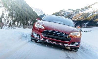 Jak Tesla radzi sobie zimą?