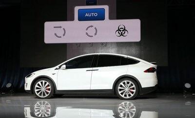 Tesla gotowa na atak chemiczny